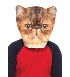 Humeurige Kat Masker