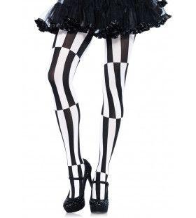 Panty Met Strepen En Optische Illusie Plus Size