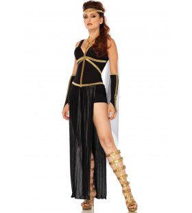 Griekse Godin Van De Nacht Vrouw Kostuum