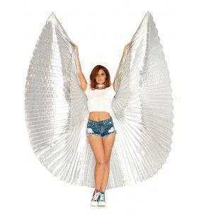 Parelmoer Vleugels Isis Zilver
