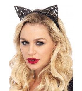 Haarband Met Filigraan Kattenoortjes