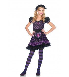 Dark Dollie Vrouw Kostuum