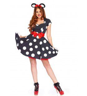 Muis Mooier Dan Minnie Vrouw Kostuum
