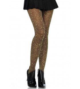 Glitter Panty Partygirl Nathalie Goud Donker