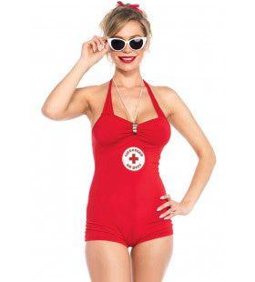 Redder In Nood Baywatch Vrouw Kostuum