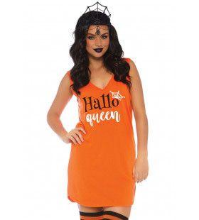 Halloween Hallo Queen Vrouw Kostuum