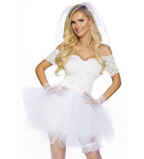 Tiffany Valentine Bruid Van Chucky Childs Play Vrouw Kostuum