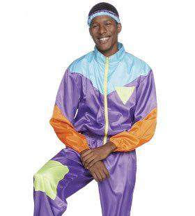 Blits Jaren 80 Skipak Zwitserse Alpen Man Kostuum