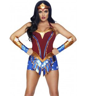 Super Sexy Held Wonder Woman Vrouw Kostuum