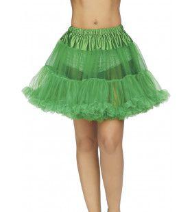 Groene Petticoat Swingende Jaren 50 Danslokaal Vrouw