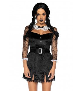 Obscuur Schoolmeisje Vrouw Kostuum