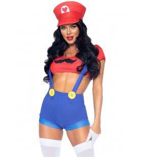 Maria Het Liefje Van Mario Vrouw Kostuum