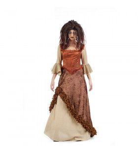 Verleidelijke Voodoo Pirate Calipso Vrouw Kostuum