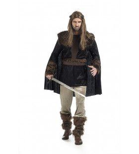 Volledig Hardvochtige Harald Viking Man Kostuum