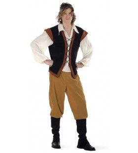 Landelijke Middeleeuwse Boer Gerbrandus Man Kostuum