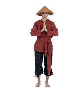 Boer Vietnamese Rijstvelden Stef An Vrouw Kostuum
