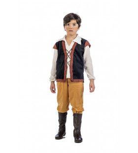 Chique Middeleeuws Boertje Vlaanderen Jongen Kostuum