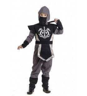 Martial Arts Ninja Ninjutsu Jongen Kostuum