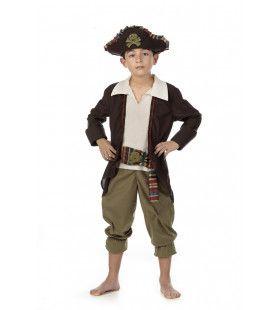 Lachende Doodskop Piraat Yona Jongen Kostuum