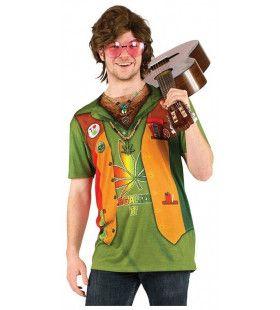 Super Relaxed Hippie Marihuana T-Shirt Man