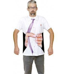 T-Shirt Get A Grip Uitgeknepen     Man