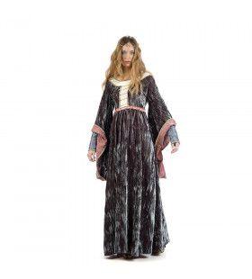 Koningin Van De Nacht Elizabeth Vrouw Kostuum