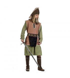Keltische Strijder Keegan Knight Man Kostuum