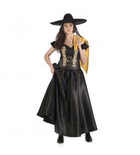 Dona Rosita Mexicaanse Grootgrondbezitster Vrouw Kostuum
