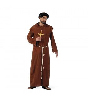 Franciscaans Minderbroeder Monnik Man Kostuum