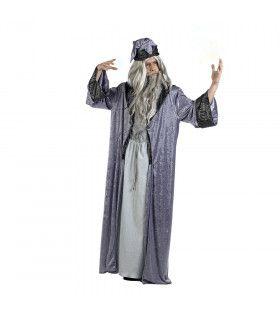 Tovenaar Merlijn Van De Ronde Tafel Man Kostuum