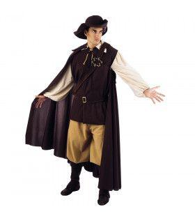 Avontuurlijke Struikrover 16e Eeuw Man Kostuum