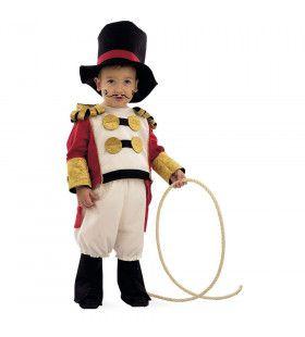 Circus Dompteur Leeuwen Zijn Ook Katten Jongen Kostuum
