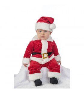 Kleinzoon Van Santa Kerstmis Kind Kostuum