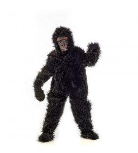 Zilverrug Gorilla Donker Afrika Kind Kostuum