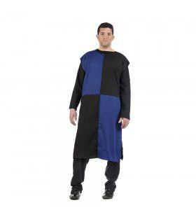 Blauwe Rappe Ridder Radboud Man Kostuum
