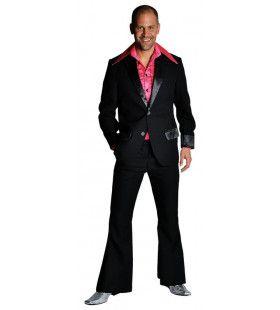 Zwart Saturday Boogie Night Disco Pak Man
