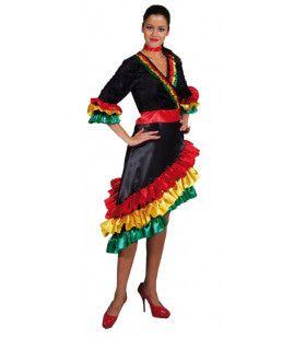 Samba Rio Brasil Vrouw Kostuum