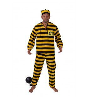 Achtenveertig Keer Levenslang Gevangenis Boef Man Kostuum