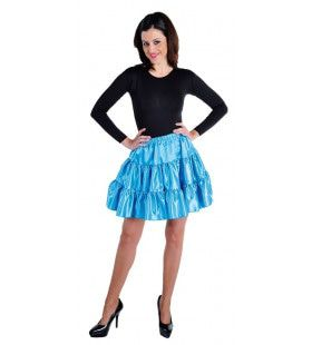 Rock Around The Clock Volangen Rok Blauw Vrouw