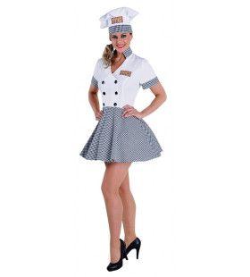 Michelin Kok Margot Sterren Restaurant Vrouw Kostuum