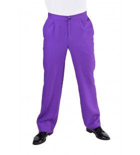 Universele Paarse Pantalon Theater Man