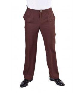 Universele Bruine Pantalon Theater Man