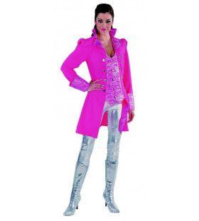 Roze Markiezin Madame Cheval Mantel En Vest Vrouw