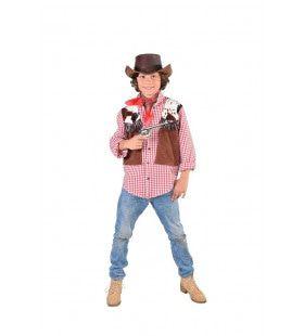 Hemd En Vest Rodeo Cowboy Jongen