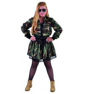 Jaren 90 Rockster Leger Camouflage Jasje