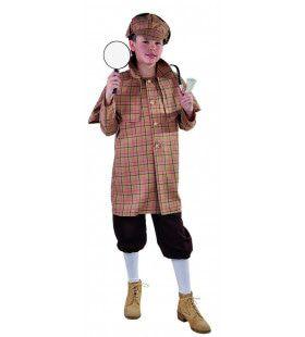 Speurneus Sherlock Holmes Kind Kostuum