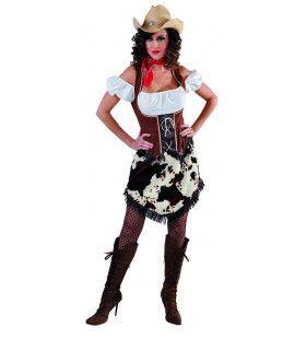 Cowgirl Lucille Rodeo Kampioen Vrouw Kostuum