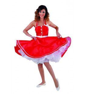 Zwierende Rokken Rock n Roll Taft Vrouw Kostuum