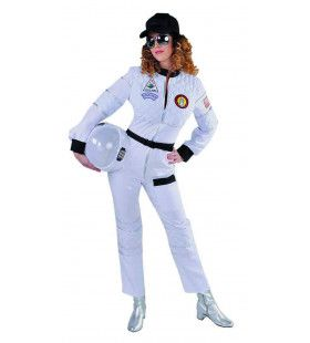 Gaan Als Een Raket Astronaut Vrouw Kostuum