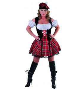 Madeline Mc Cool Schotse Highlander Vrouw Kostuum